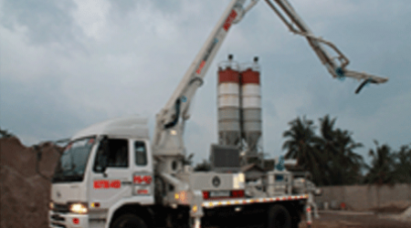 Harga Sewa Pompa Beton di Bogor